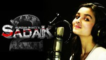 Alia Bhatt records a romantic track for Sadak 2 | FilmiBeat