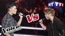 Matthieu VS Fabian – « Aussi libre que moi » (Calogero) | The Voice France 2017 | Battle