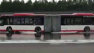 VÍDEO: ¿Un autobús driftando? Sí, es posible