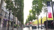 Champs-Elysées: retour au calme après la liesse et les incidents