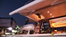 2019 Prestige 520 Luxury Yacht - Interior Deck Bridge Walkthrough - 2019 Miami Yacht Show