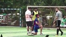Ranbir Kapoor & His Team Practice Football Match