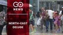 Floods, Heavy Rain Lash North-East