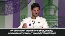 """(Subtitled) Djokovic """"wasn't happy to be part of Federer-Nadal era in the beginning of career"""""""