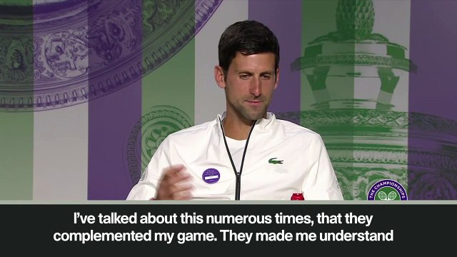 "(Subtitled) Djokovic ""wasn't happy to be part of Federer-Nadal era in the beginning of career"""