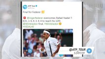 Socialeyesed - World reacts to Federer vs Nadal