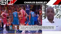 Russell Westbrook must give up his PG position to James Harden - Charles Barkley _ SportsCenter