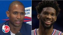 Al Horford can't wait to play alongside Joel Embiid on the 76ers _ 2019 NBA Free