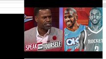 Stephen Jackson EXPLAIN Why smart for Rockets to dump Chris Paul for Russell Westbrook