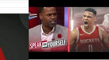 Stephen Jackson hopes that Russell Westbrook's triple-double will streak continue with Rockets