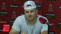 Mike Trout on honoring Tyler Skaggs with Angels' no-hitter_ You can't make this up _ MLB on ESPN