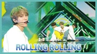 [HOT] 1TEAM  - ROLLING ROLLING, 1TEAM - 롤링롤링 Show Music core 20190713