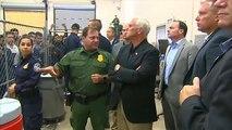 US-Vize Mike Pence besichtigt Internierungslager