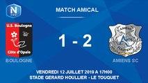 Résumé match amical USBCO - Amiens SC