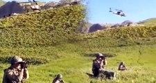 Son dakika! Irak'ın kuzeyinde başlatılan Pençe-2 harekatından ilk görüntüler geldi!