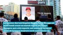 Tyler Skaggs, star américaine du baseball, meurt brutalement juste avant un match