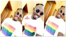 Un fan de Wally Seck porte le même t-shirt LGBT et fait parler de lui