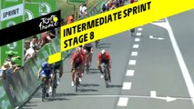 Sprint intermédiaire / Intermediate sprint - Étape 8 / Stage 8 - Tour de France 2019