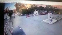 Denizli'deki silahlı saldırı güvenlik kamerasında