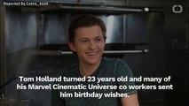 Zendaya Wishes Tom Holland Happy Birthday On Instagram