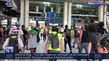 Des gilets jaunes ont manifesté à la gare du Nord ce samedi