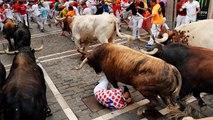 Stiertreiben in Pamplona: Schnellster Lauf und 5 Verletzte