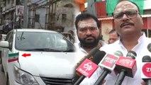 VIDEO: गाड़ी पर लगा था उल्टा तिरंगा, काशी विश्वनाथ गए कानून मंत्री बृजेश पाठक ने दी सफाई