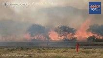 Maui fire - Big fire in WAILUKU, HAWAII - Brush fire on Maui, Hawaii, evacuations ordered