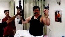 BJP MLA Kunwar Pranav Singh Champion का हाथियारों के साथ Video Viral, Licence रद्द | वनइंडिया हिंदी