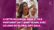 PHOTOS. Eva Longoria radieuse au Global Gift House avec son fi...