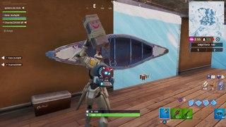 Fortbyte #94: con el pico Guadaña Escarlata para reventar una canoa azul bajo un lago congelado