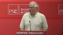 """Borrell niega que el PSOE """"juegue"""" a repetir elecciones: """"No es una solución"""""""