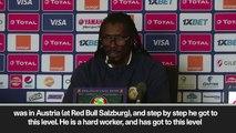 (Subtitled) 'Mane's evolution at Liverpool has been phenomenal' Senegal head coach Cisse