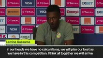 (Subtitled) 'We have 16million Senegalese behind us' Senegal vs Tunisia, AFCON semi-final