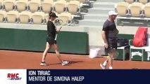"""Wimbledon : pour le mentor d'Halep, """"elle a fait le match de sa vie"""" contre S. Williams"""