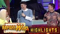Vice Ganda gets annoyed with Vhong's questions with Chess Chess Yo | It's Showtime KapareWho
