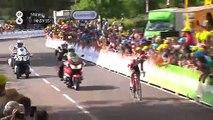 Thomas de Gendt wins stage 8 of the Tour de France