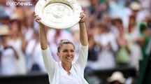 Simona Halep beats Serena Williams to become first Romanian to win Wimbledon tennis singles title