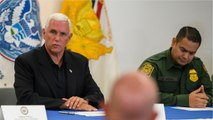 Mike Pence Visits Federal Detention Centers