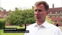 Hunt speaks out in favour of journalists publishing leaks