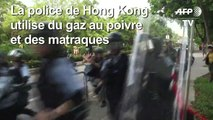 Hong Kong: affrontements lors de manifestations