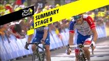 Summary - Stage 8 - Tour de France 2019
