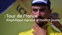Tour de France - Alaphilippe reprend le maillot jaune