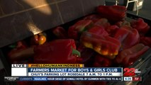 Fresh produce for a good cause during Young Farmers and Ranchers charity farmer's market