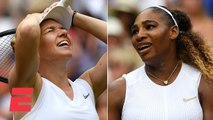 Simona Halep dominates Serena Williams to win Wimbledon title _ 2019 Wimbledon Highlights