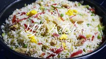 Restaurant Style Chicken Fried Rice - quick recipe