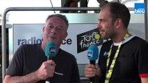 """Tour de France : présentation de la 9e étape, """"c'est une étape encore très dangereuse, pour baroudeurs"""""""