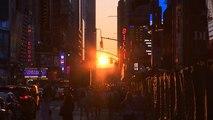 Varázslatos naplemente New Yorkban
