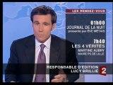 France 2 - 28 Mars 2006 - Teasers, JT 20H (David Pujadas)