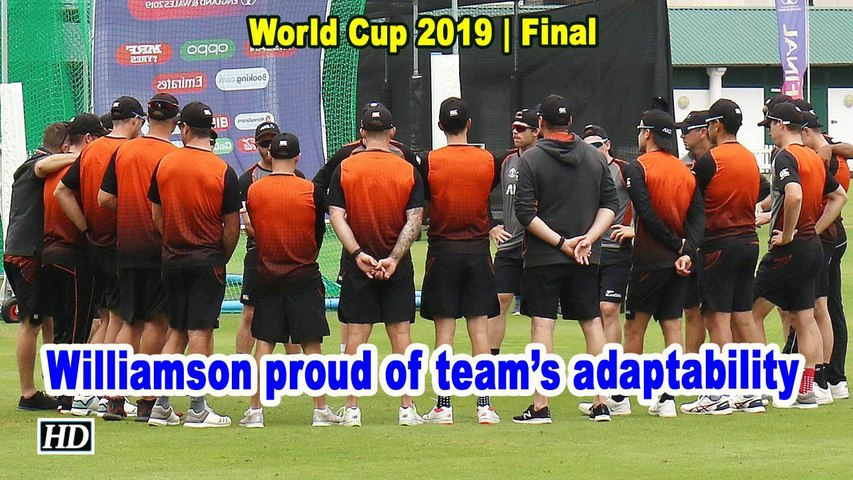 World Cup 2019 | Williamson proud of the way his boys have adapted to conditions
